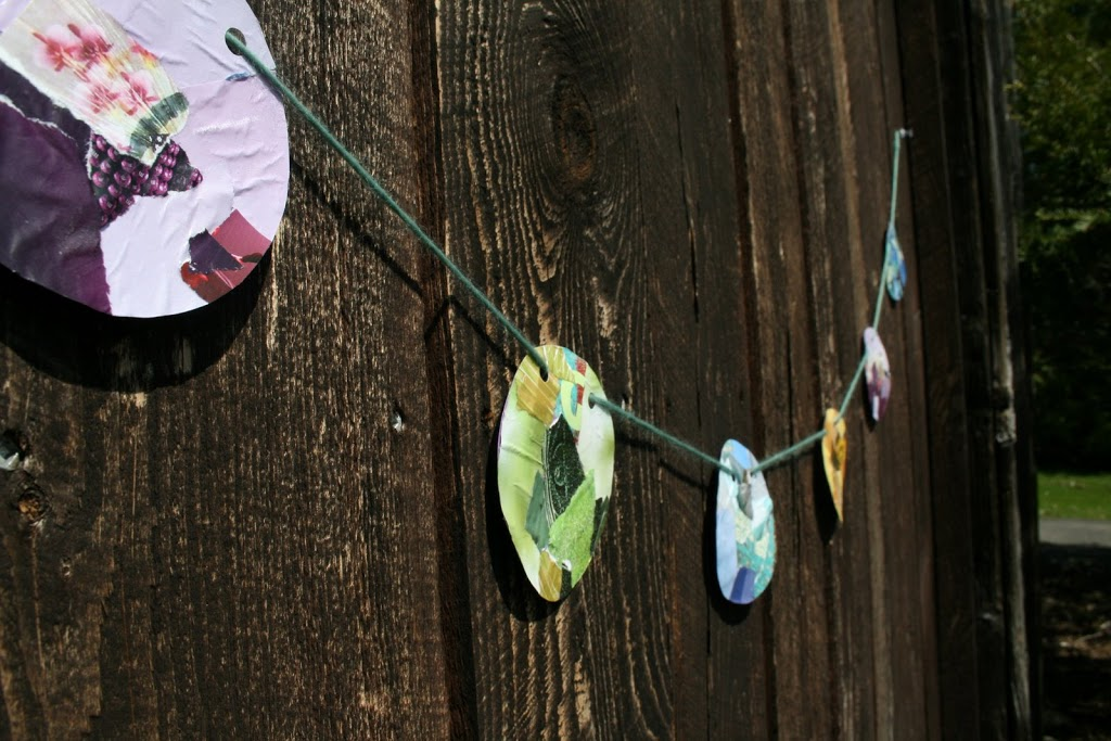 circle garland tutorial