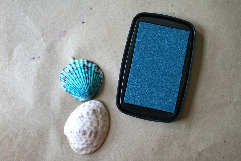 Nature Printing :: sea shells