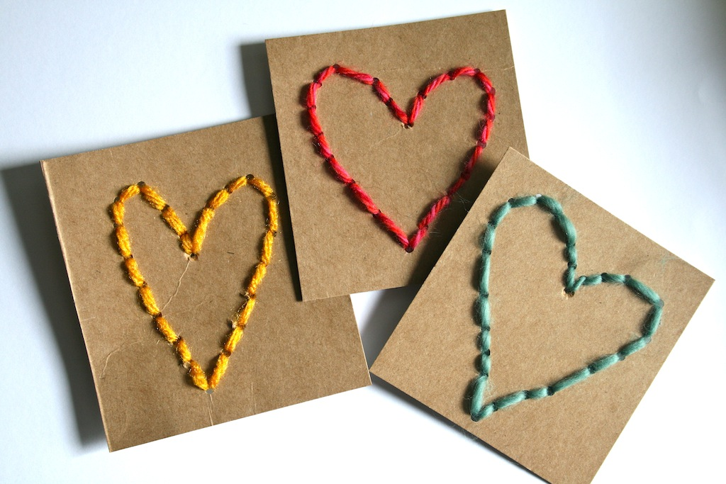 Sew-A-Heart Valentine Tutorial