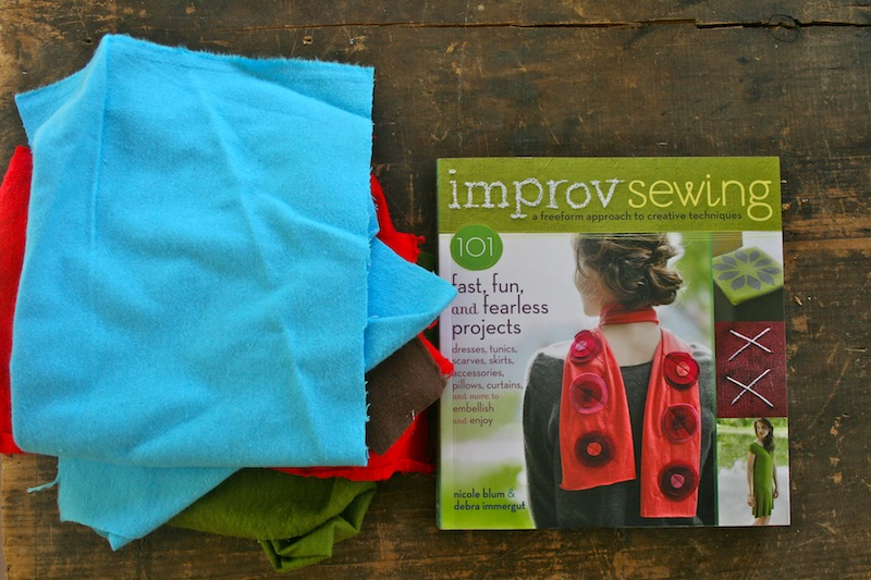 Improv Sewing :: Review and Book Giveaway!
