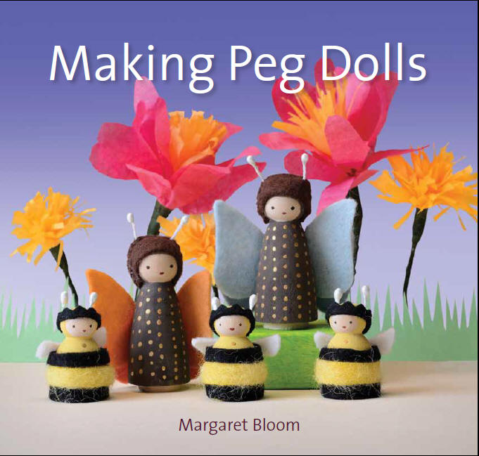 Making Peg Dolls; interview & giveaway