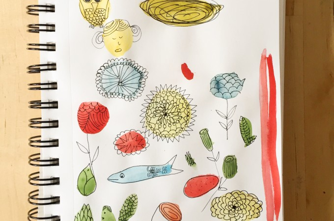 On My Page — Journal Doodle