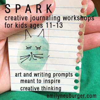 Summer Creative Journaling Workshop for Ages 11-13